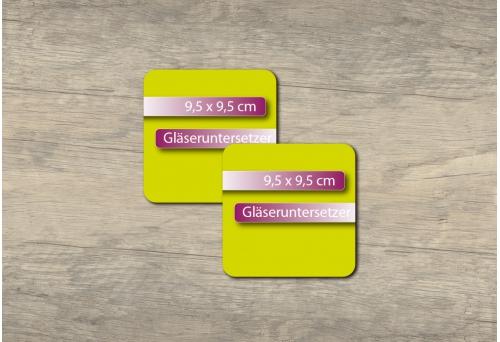 Untersetzer 9.5x9.5cm