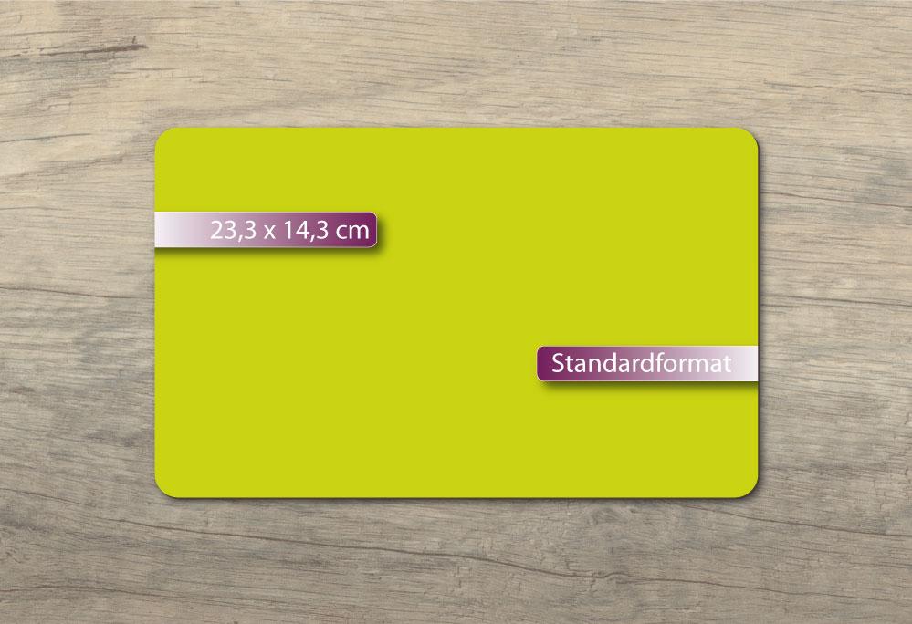 Frühstücksbrettchen  23.3x14.3cm - im klassischen Format